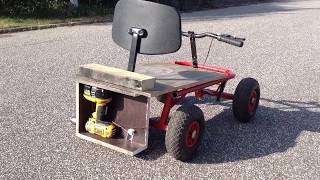 How To Make A Go Kart Powered Easy.