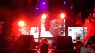 Tech N9ne -EBAH,Straight Out da gate,Einstein (Live @ Rialto Theatre Tech 9 Special Effects 4/12/15)