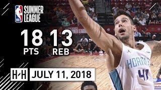 Willy Hernangomez Full Highlights vs Warriors (2018.07.11) NBA Summer League - 18 Pts, 13 Reb, 3 Ast