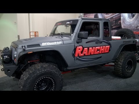 Jeep Wrangler Unlimited Pickup Conversion Revealed