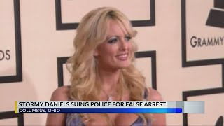 Stormy Daniels Sues Police Officers Over Ohio Strip Club Arrest