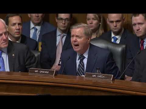 Senator Lindsey Graham slams Democrats during Brett Kavanaugh hearing