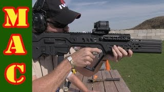 integrated suppressor 9mm tavor manticore arms