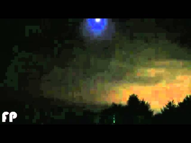 UFO REAL   Ovni Grabado Por Cámara de Seguridad en Michigan, USA