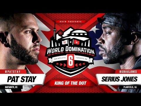 KOTD - Rap Battle - Pat Stay vs Serius Jones | #WD6ix