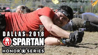 Dallas Spartan Race 2018 | Kevin crushes his FIRST SPRINT! Dallas Honor Series 2018