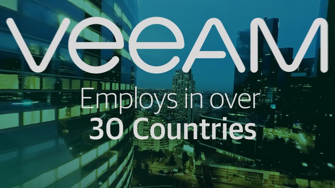 What does it mean to work at Veeam?