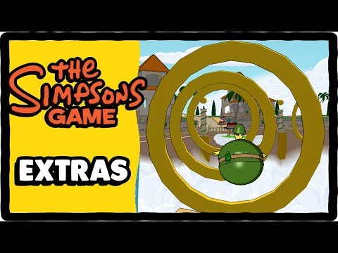 Let's Replay The Simpsons Game - Extras