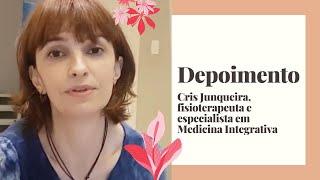Cris Junqueira, facilitadora do protocolo há 2 anos.