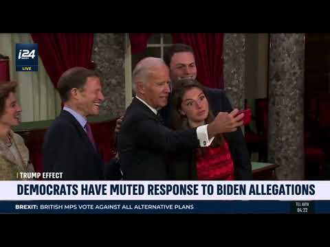 "i24's ""Stateside"" with David Shuster, Apr 1, 2019: Biden & ""Inappropriate Touching"""