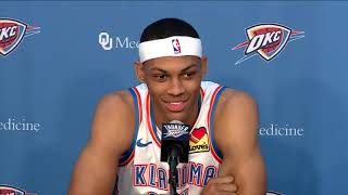 Thunder Media Day 2019: Darius Bazley