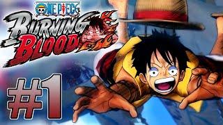 ONE PIECE: BURNING BLOOD #1 - O INÍCIO DA GUERRA!!