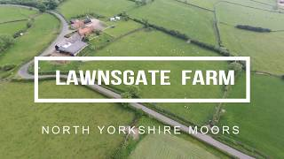 North Yorkshire Moors Lealholm Whitby Lawnsgate Farm Caravan and Camping Site.