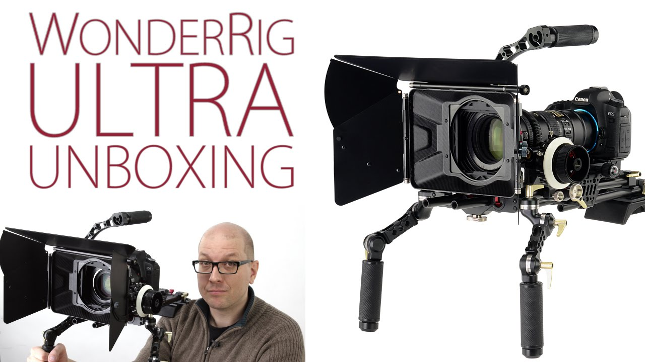 Unboxing The WonderRig Ultra From Fotodiox - Pro DSLR and Mirrorless Filmmaking Rig System