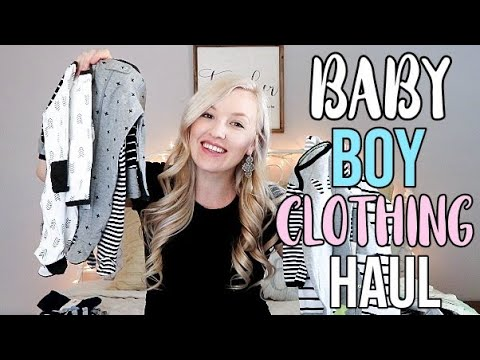 BABY BOY CLOTHING HAUL | TARGET OLD NAVY WALMART