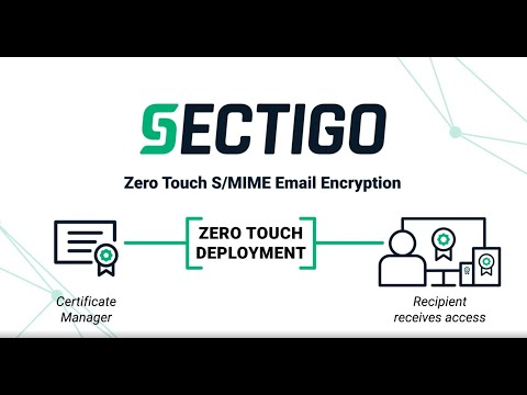 Sectigo Zero Touch Deployment S/MIME Solution - YouTube