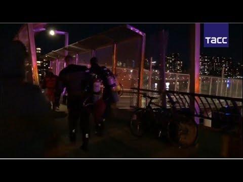 Крушение вертолета в Нью-Йорке