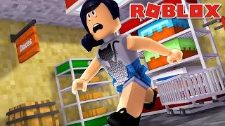 Roblox com Facecam - KETCHUP ASSASSINO! (Escape the Supermarket Obby)