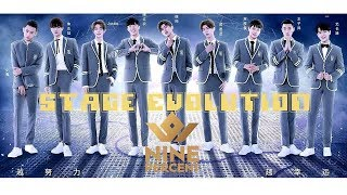 Nine Percent成员在偶练的舞台进化史 /Nine Percent Members' Stage Evolution in Idol Producer