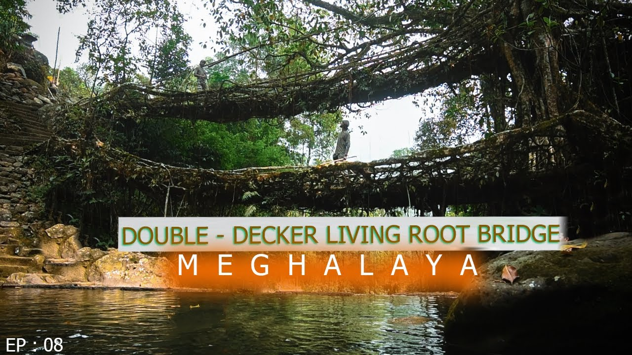 Double Decker Living Root Bridge : Rainbow Waterfall | NorthEast India: Unseen Meghalaya 08