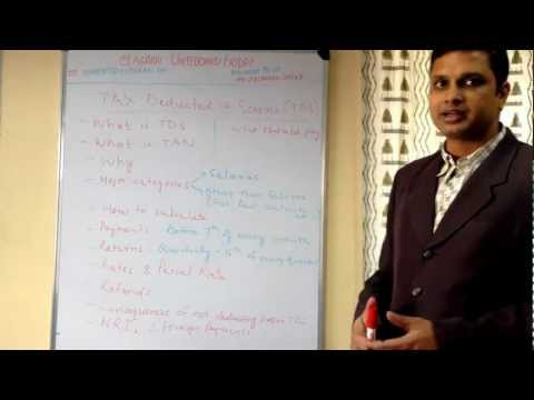 Understanding TDS - Tax Deducted At Source & TAN for Indian Businesses