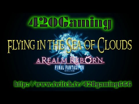 Final Fantasy XIV: A Realm Reborn - Flying in the Sea of Clouds