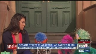 New Sesame Street character connects with children of incarcerated parents