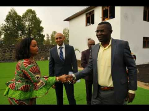 Kivu International School inauguré à Goma le 31 08 2017  Reportage  Musafiri Mulopwe Mustafa Kemal