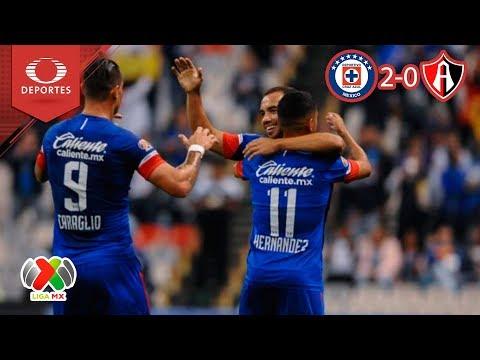La máquina arrasa con los zorros | Cruz Azul 2 - 0 Atlas | Liga MX - J10 | Televisa Deportes