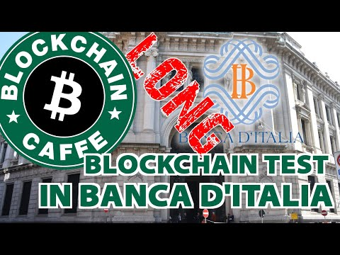 Blockchain in Banca d'Italia  | LONG Version |  Blockchain Caffe