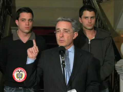 Declaración del Presidente de la República, Álvaro Uribe Vélez (29 jul)
