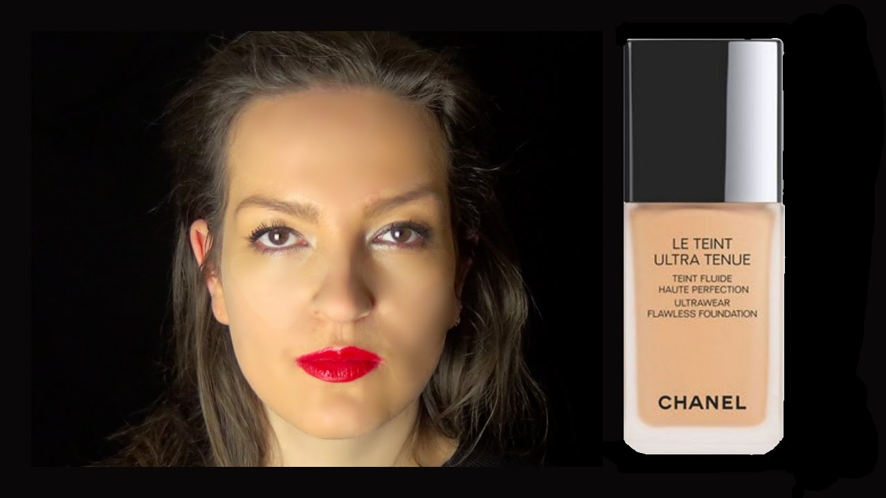 b4eee2bf01 CHANEL Le Teint Ultra Tenue Foundation Review || Makeup Brush vs Beauty  Sponge Application