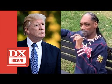 Snoop Dogg Smokes A Blunt In Front Of The White House & Says