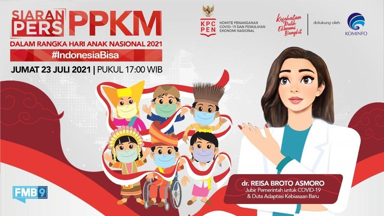 LIVE:Siaran Pers PPKM