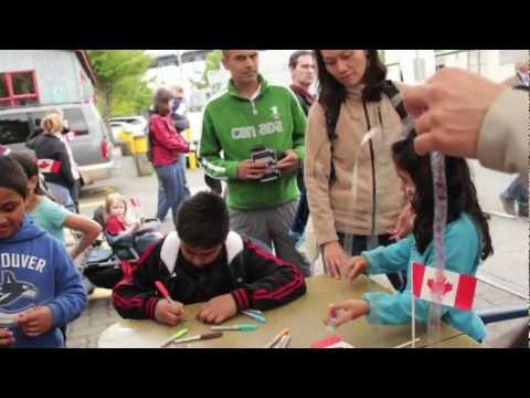 Canada Day On Granville Island