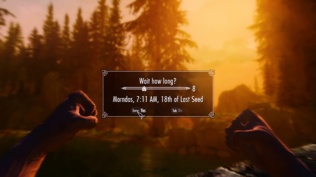 Skyrim Special Edition - Best Enb + Weather mod (2017