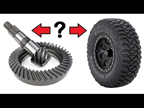 How to Choose Your Axle Gear Ratio - YouTube