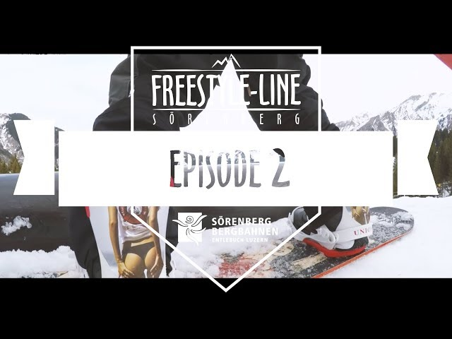 Freestyle-Line Sörenberg, Episode 2, Season 17/18