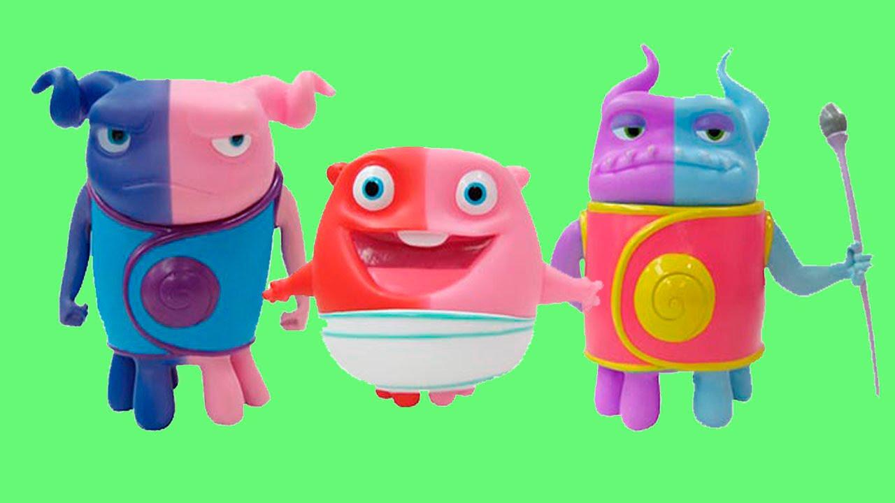 Muñecos de HOME hogar dulce hogar cambian de color con el agua - VDJ ...