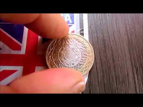 Libra Esterlina Two Pounds Inglaterra 1998