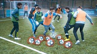 Играем в ФУТБОЛ несколькими мячами ОДНОВРЕМЕННО 🤯