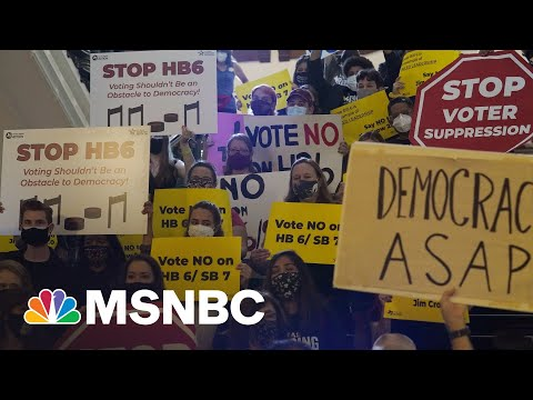 GOP Voter Suppression Strategy: Signaling Base Not To Trust Elections | Rachel Maddow | MSNBC
