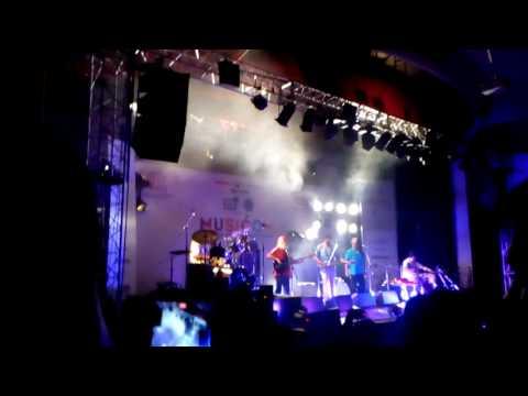 Indian ocean band !! Rahul Ram at PU Panjab University Chandigarh !! Law Audi !! Great performance!!