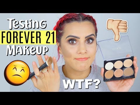 FOREVER 21 MAKEUP FIRST IMPRESSIONS... What is this SH *T?? | BodmonZaid