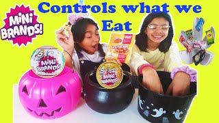 Mini Brands Series 1 Mini Brands Series 2 Control What i Eat