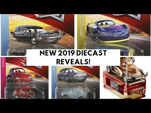 New 2019 Cars Diecast Reveals Richie Gunzit 6 More Youtube