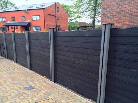 diy wood plastic fence panels cheap