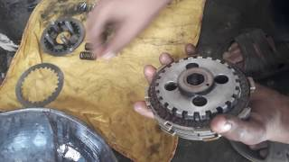 Installation Of clutch Plates Of 125 .....
