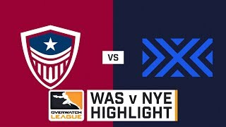 HIGHLIGHTS Washington Justice vs. New York Excelsior | Stage 1 | Week 1 | Day 3 | Overwatch League