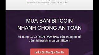 Hướng dẫn mua bán Bitcoin trên sàn giao dịch Remitano